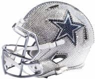 Dallas Cowboys Full Size Swarovski Crystal Football Helmet