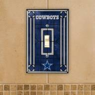 Dallas Cowboys Glass Single Light Switch Plate Cover
