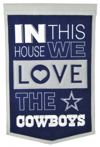 Dallas Cowboys Home Banner