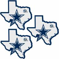 Dallas Cowboys Home State Decal - 3 Pack