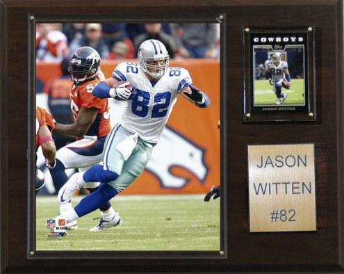 """Dallas Cowboys Jason Witten 12 x 15"""" Player Plaque"""