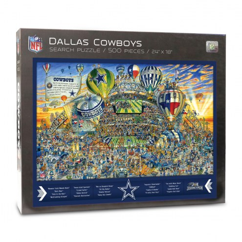 Dallas Cowboys Joe Journeyman Puzzle