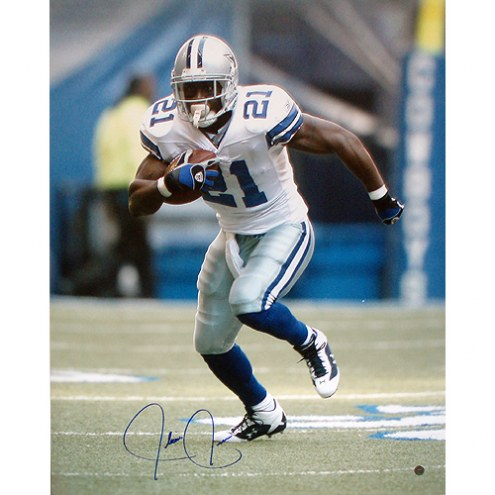 "Dallas Cowboys Julius Jones Action Signed 16"" x 20"" Photo"