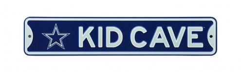 Dallas Cowboys Kid Cave Street Sign