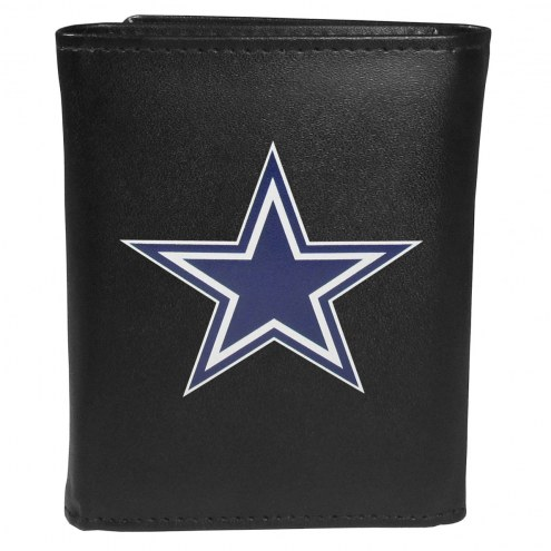 Dallas Cowboys Large Logo Leather Tri-fold Wallet