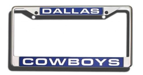 Dallas Cowboys Laser Cut License Plate Frame