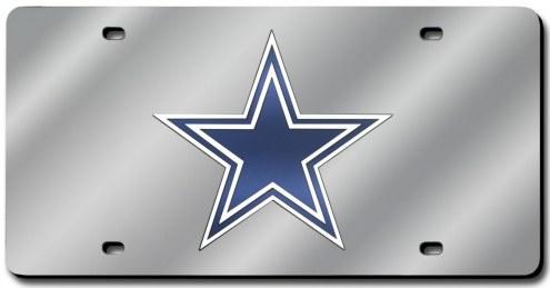 Dallas Cowboys Laser Cut License Plate