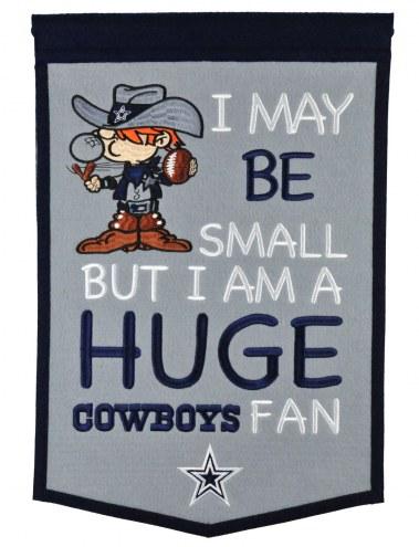 Dallas Cowboys Lil Fan Traditions Banner