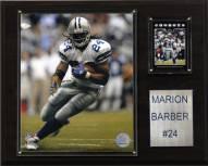 """Dallas Cowboys Marion Barber III 12 x 15"""" Player Plaque"""