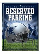 Dallas Cowboys Metal Parking Sign