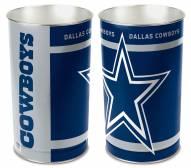 Dallas Cowboys Metal Wastebasket