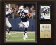 """Dallas Cowboys Miles Austin 12 x 15"""" Player Plaque"""