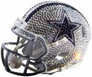 Dallas Cowboys Mini Swarovski Crystal Football Helmet
