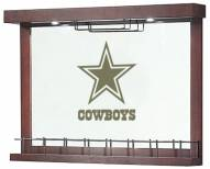 Dallas Cowboys Mirrored Wall Bar