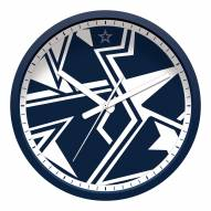 Dallas Cowboys Modern Wall Clock