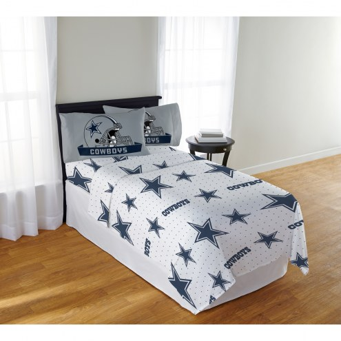 Dallas Cowboys Monument Full Bed Sheets