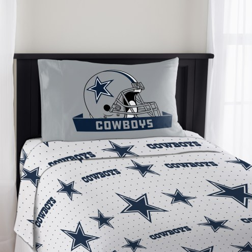 Dallas Cowboys Monument Twin Bed Sheets