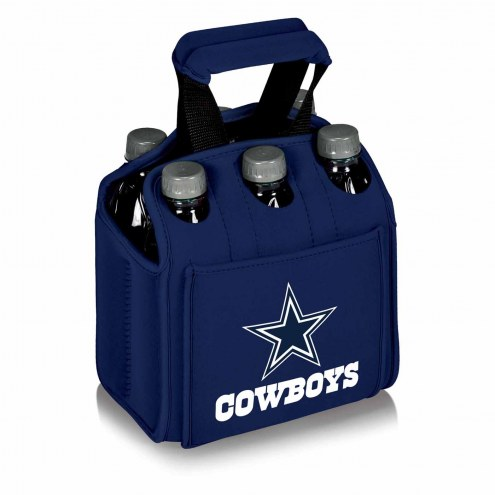Dallas Cowboys Navy Six Pack Cooler Tote