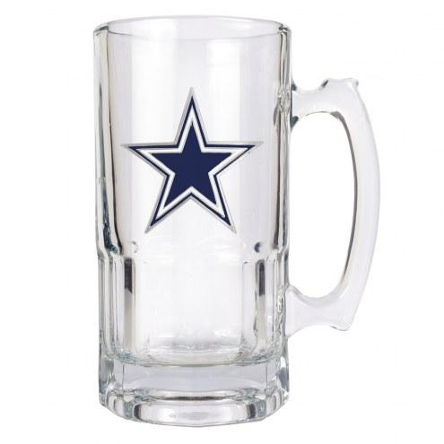 Dallas Cowboys NFL 1 Liter Glass Macho Mug