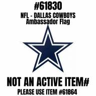 Dallas Cowboys Ambassador Car Flags