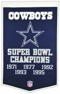 Dallas Cowboys NFL Dynasty Banner