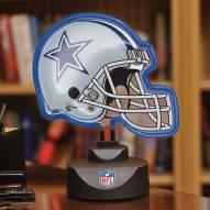 Dallas Cowboys Neon Helmet Desk Lamp