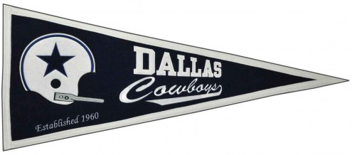 Dallas Cowboys NFL Throwback Pennant