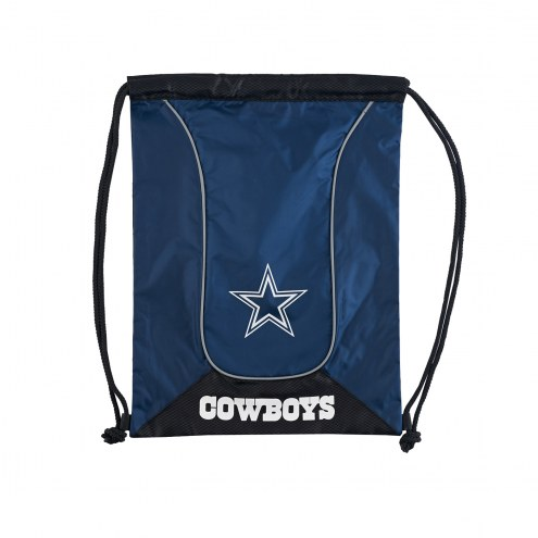 Dallas Cowboys Doubleheader Drawstring Bag