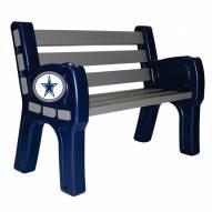 Dallas Cowboys Park Bench