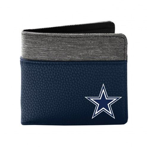 Dallas Cowboys Pebble Bi-Fold Wallet