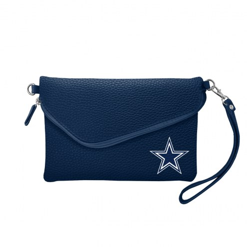 Dallas Cowboys Pebble Fold Over Purse