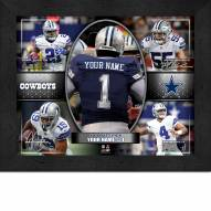Dallas Cowboys Personalized 11 x 14 Framed Action Collage