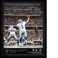 Dallas Cowboys Personalized 11 x 14 NFL Action QB Framed Print