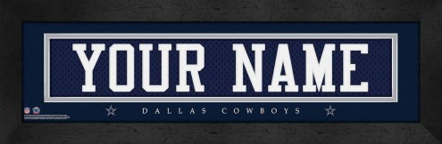Dallas Cowboys Personalized Stitched Jersey Print