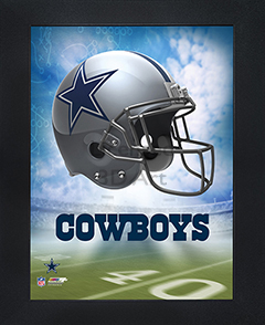 Dallas Cowboys Framed 3D Wall Art