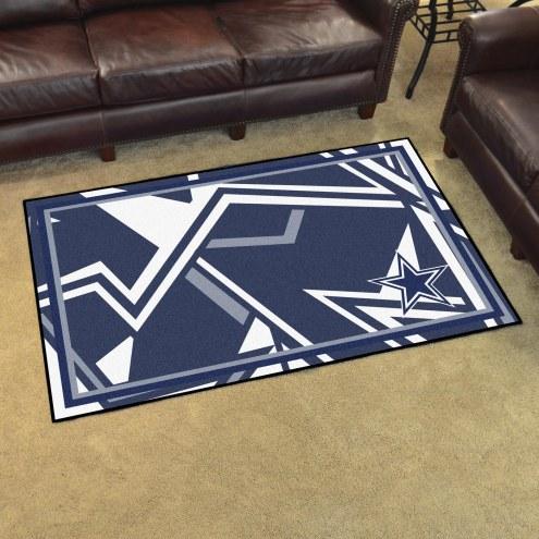 Dallas Cowboys Quicksnap 4' x 6' Area Rug