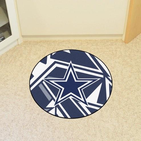 Dallas Cowboys Quicksnap Rounded Mat