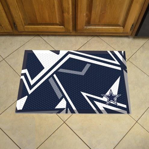 Dallas Cowboys Quicksnap Scraper Door Mat