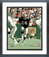Dallas Cowboys Randy White - Breaking through line Framed Photo