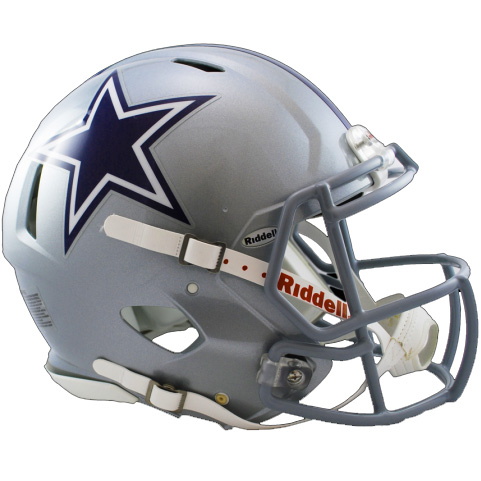 Dallas Cowboys Riddell Speed Full Size Authentic Football Helmet