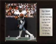 "Dallas Cowboys Roger Staubach 12"" x 15"" Career Stat Plaque"