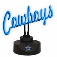 Dallas Cowboys Script Neon Desk Lamp