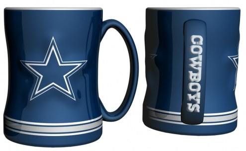 Dallas Cowboys Sculpted Relief Coffee Mug