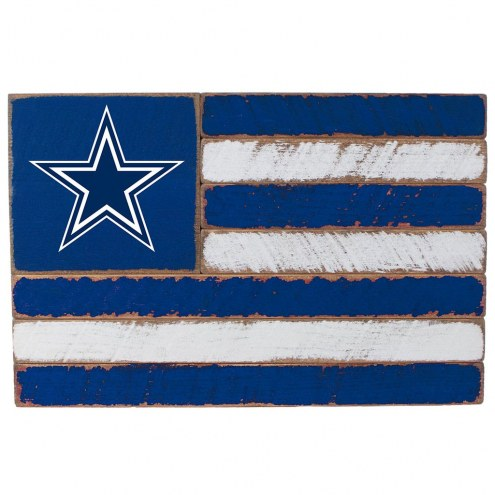 Dallas Cowboys Small Flag Wall Art