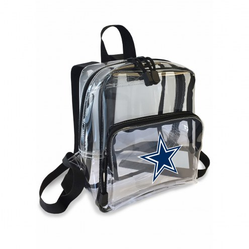 Dallas Cowboys Stadium Friendly Clear Mini Backpack