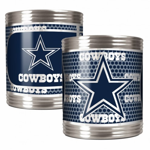 Dallas Cowboys Stainless Steel Hi-Def Coozie Set