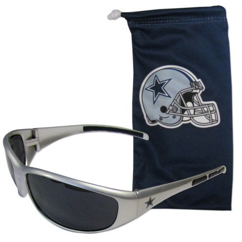 Dallas Cowboys Sunglasses and Bag Set