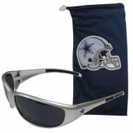 Dallas Cowboys Sunglasses and Bag Set