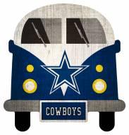 Dallas Cowboys Team Bus Sign