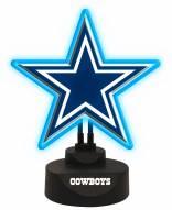 Dallas Cowboys Team Logo Neon Light